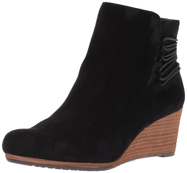 Dr. Scholl's Shoes Women's Knoll Boot B071YJ319S 8 B(M) US Black Microfiber