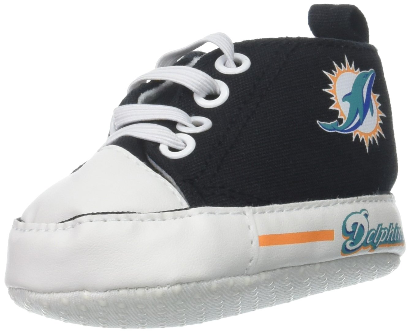 Baby Fanatic Pre-Walker Hightop, Miami Dolphins MID64002
