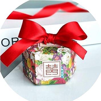 Amazon.com: Caja de dulces de estilo hexagonal de Europa ...