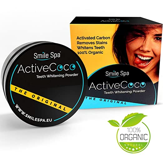145 opinioni per ActiveCoco Activated Charcoal Teeth Whitening Powder | 30 Grams 100% Coconut