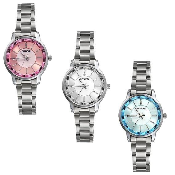 Reloj mujer clásico lancardo reloj cuarzo reloj pulsera reloj Original cuadrado correa piel reloj Mujer pas barato impermeable Blanco: Amazon.es: Relojes
