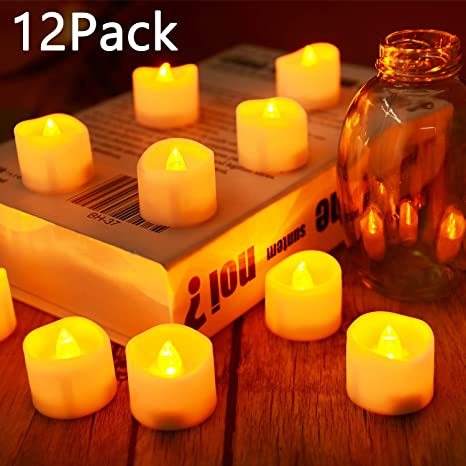 Amazon Flameless Candles Led Tea Light Candles With Battery