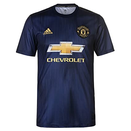 0c15e1a1a2f Amazon.com   adidas 2018-2019 Man Utd Third Football Shirt   Sports    Outdoors