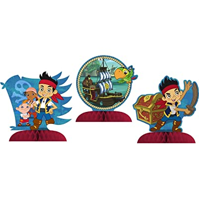 Hallmark Jake & The Never Land Pirates Mini Centerpiece (3ct): Toys & Games