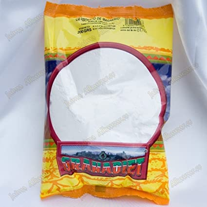 Carbonato de magnesio Granadiet 200gr: Amazon.es: Salud y cuidado ...
