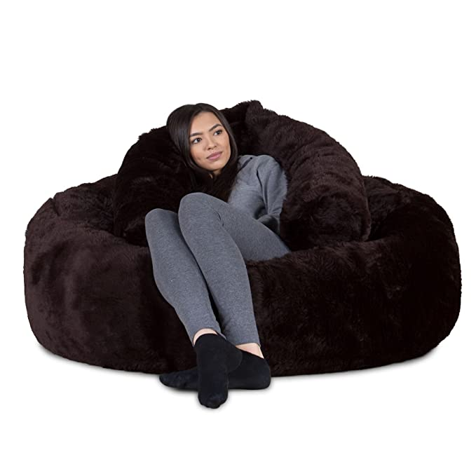 Lounge Pug®, Puff Gigante Sofá Mamut, Piel Sintética ...