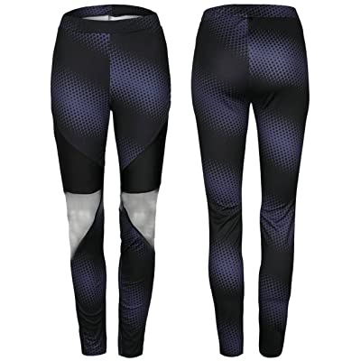 7TECH Mesh spot printing sweatpants yoga pants ZC2384