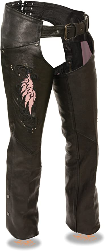 Black, XX-Small Kids Milwaukee Leather Kids Chaps