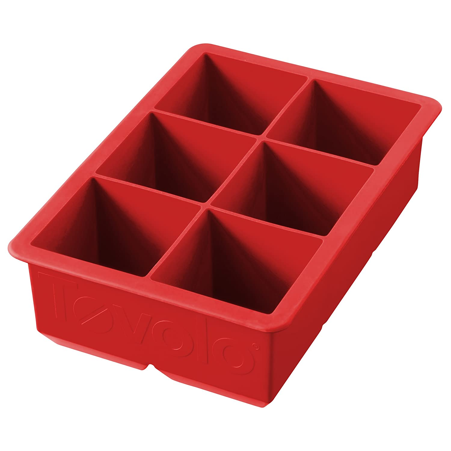 Tovolo King Cube Ice Trays - Candy Apple