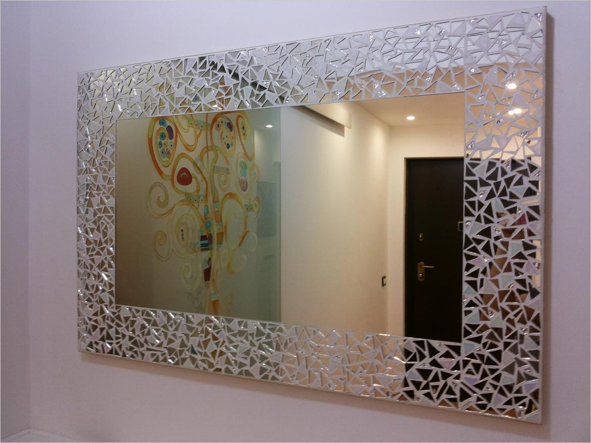 specchio in mosaico moderno per ingresso disponibile su misura ...