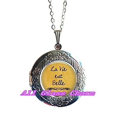 Amazon Com Charming Locket Necklace Beautiful Locket