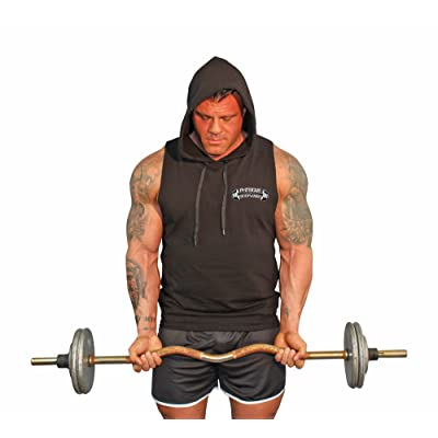 Physique Bodyware Men's Stringer Tank Hoodie. Made in