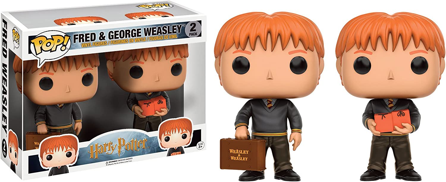 Funko Pop! - Pack Figuras Funko Harry Potter - Fred and Georges Weasley - Figura: Amazon.es: Juguetes y juegos