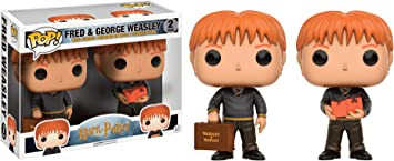 Funko Pop! - Pack Figuras Funko Harry Potter - Fred and Georges ...