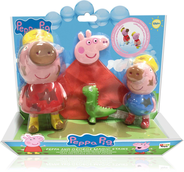 IMC Toys Peppa Pig - Peppa y George Manchitas Mágicas 360204