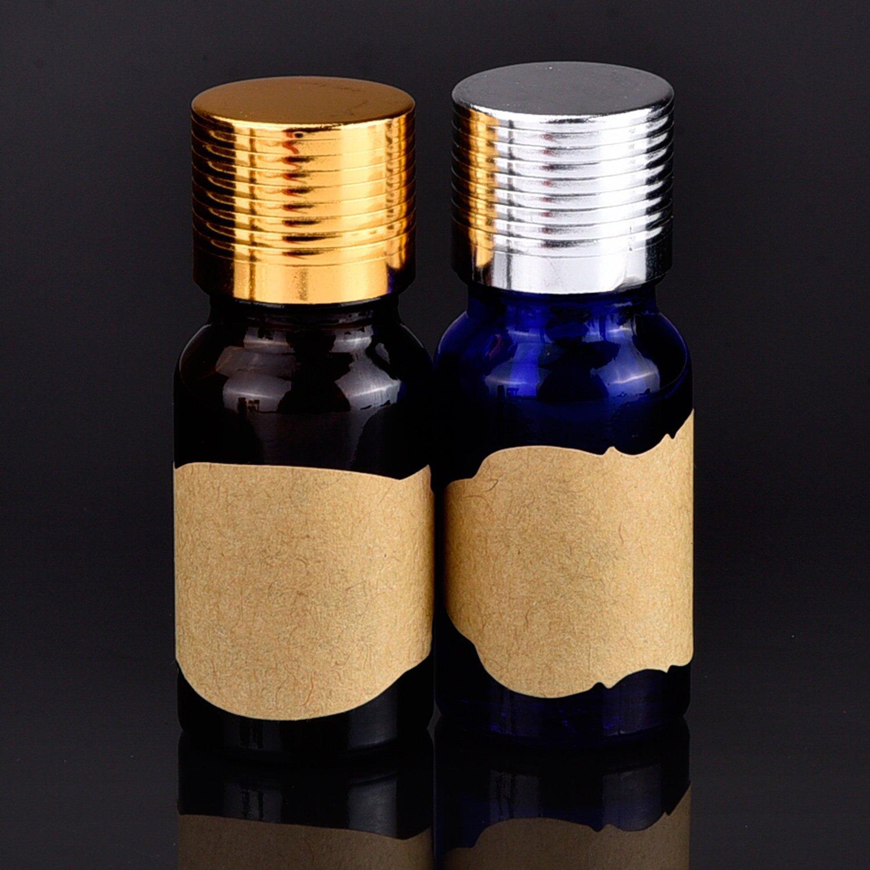 Essential Oil Bottle Marker Labels-Fancy Kraft Paper Stickers For Cosmetic Classification (6sheet-192pcs) by Elandy (Image #7)