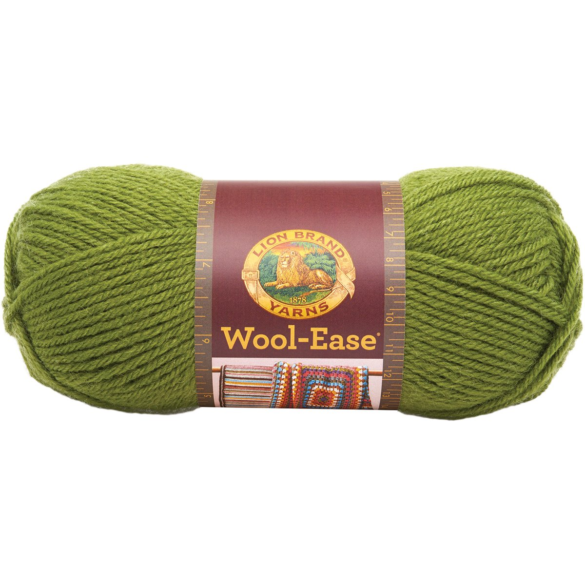 (Avocado) - Lion Brand Yarn 620-174B Wool-Ease Yarn, Avocado B003D7E030