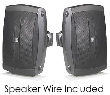 yamaha outdoor speakers. yamaha all weather indoor \u0026 outdoor wall mountable natural sound 120 watt 2-way acoustic speakers e