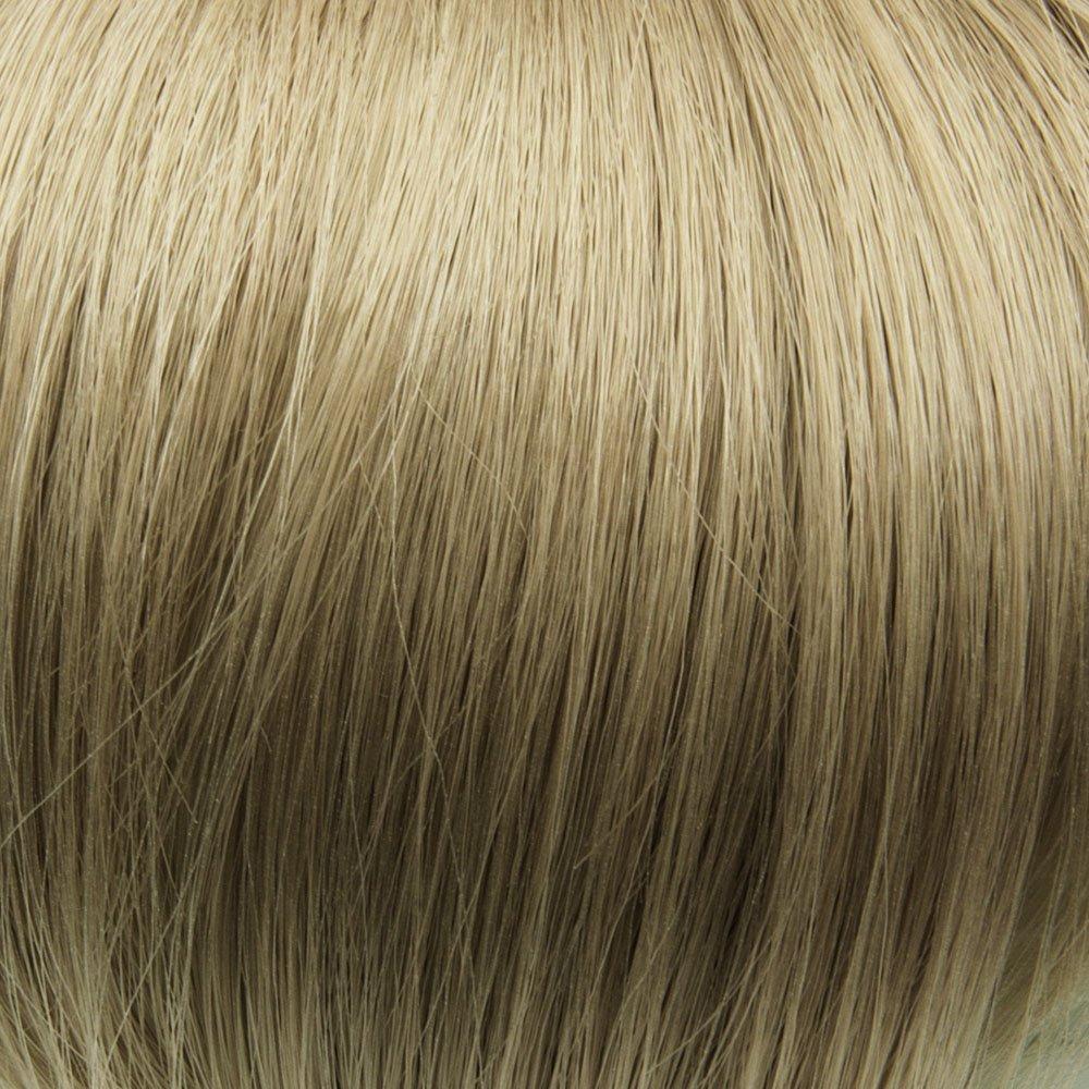Prettyland - K170 Extensión de cabello, Peluca lisa a 50 cm larga con 7 piezas - BL40 caramelblond