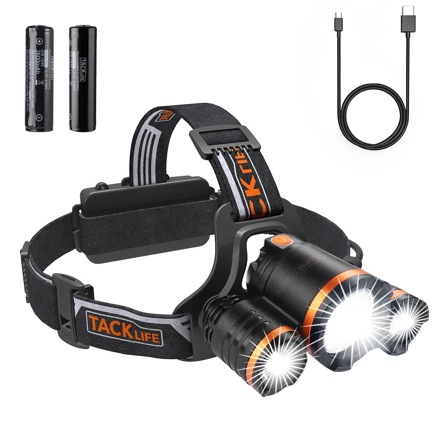 Tacklife LLH4A Headlamp Just $...