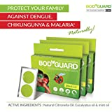 Bodyguard Premium Natural Anti Mosquito Repellent Patches - 60 + 12 Patches