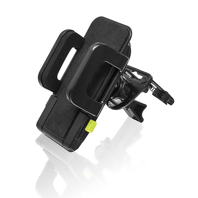 Bracketron TekGrip Universal Smartphone Car Air Vent Mount Phone Holder Hands Free Compatible iPhone X 8 Plus 7 SE 6s 6 5s 5 Samsung Galaxy S9 S8 S7 S6 S5 Note Google Pixel 2 XL LG Nexus Sony Nokia BT1-641-2