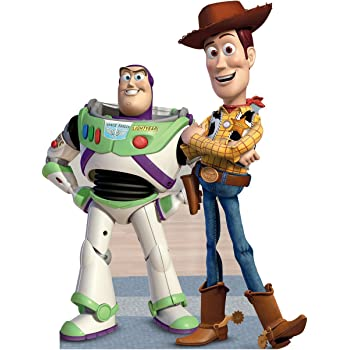 e4c6e9e9c9a32 Buzz   Woody - Disney Pixar s Toy Story - Advanced Graphics Life Size  Cardboard Standup