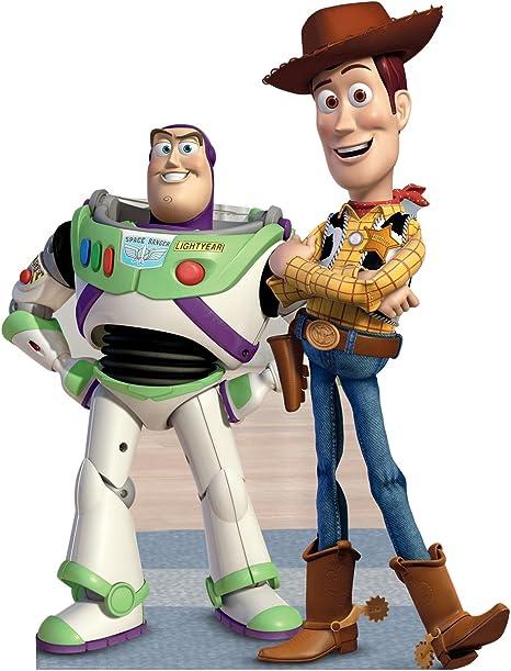 Disney Pixars Toy Story Cardboard People Buzz Lightyear Life Size Cardboard Cutout Standup
