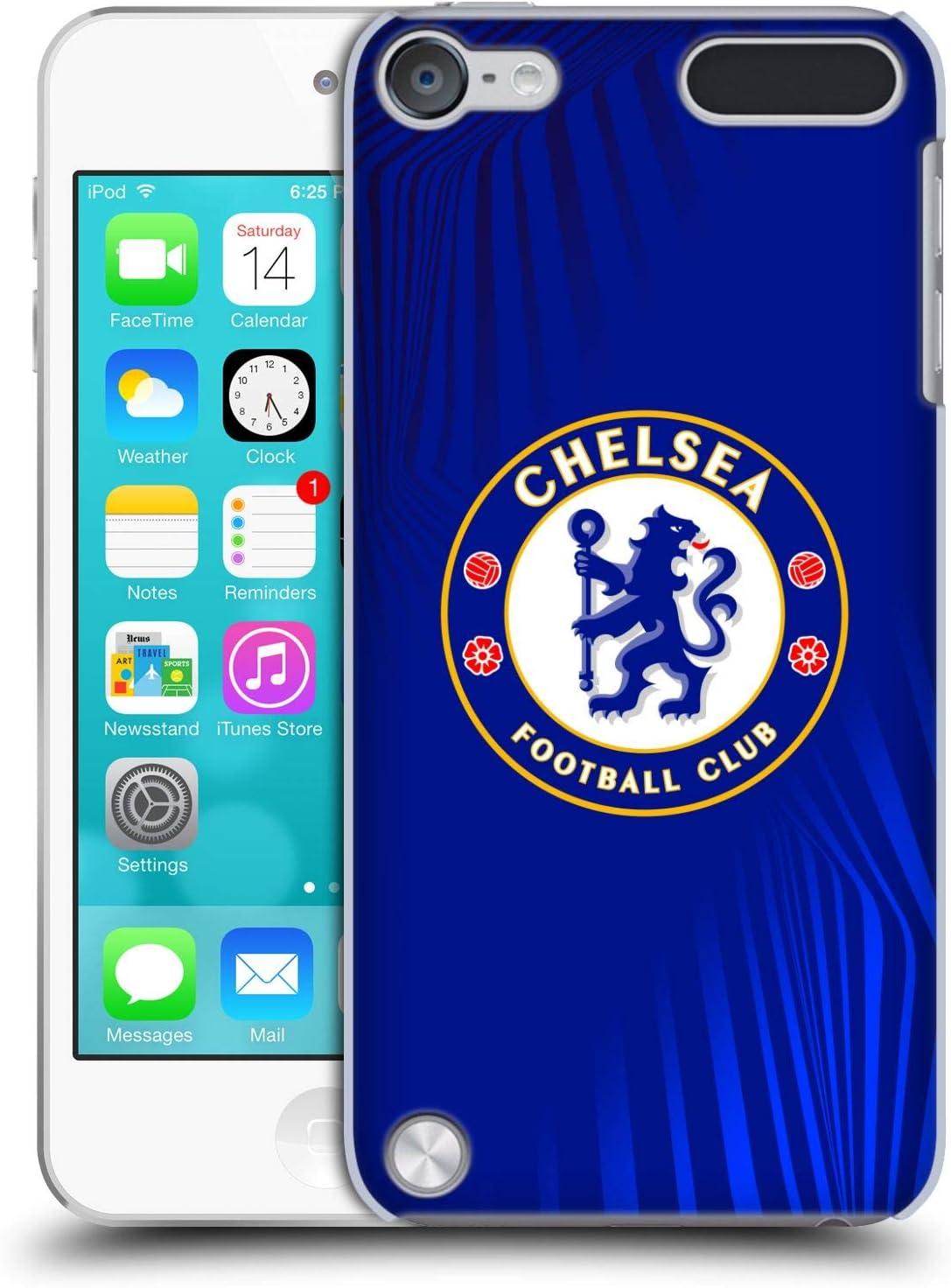 Chelsea FC Officiel Rétro en cuir synthétique Vintage Qualité Football Taille 5-Cadeau