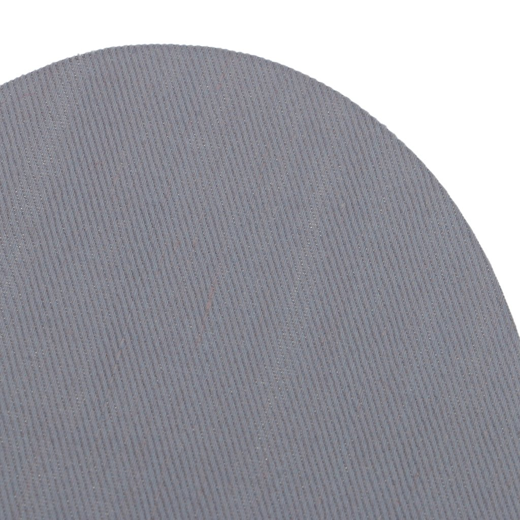 Black Homyl 2 Pieces Sew on//Iron-on Oval Elbow Knee Patches Repair Mend Sewing Appliques for Clothes