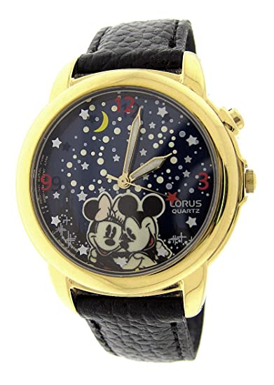 Mickey con Minnie Mouse Lorus Musical reloj reproduce Wish Upon A Star.: Mickey watch: Amazon.es: Relojes