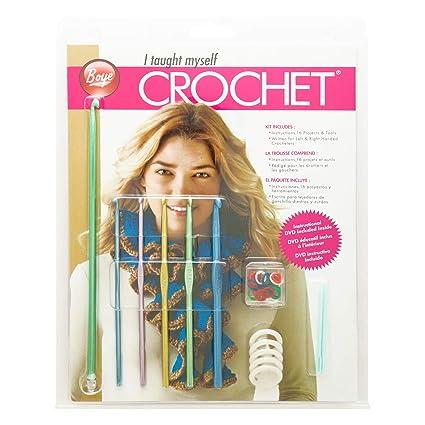 Amazoncom I Taught Myself Crochet Beginners Kit
