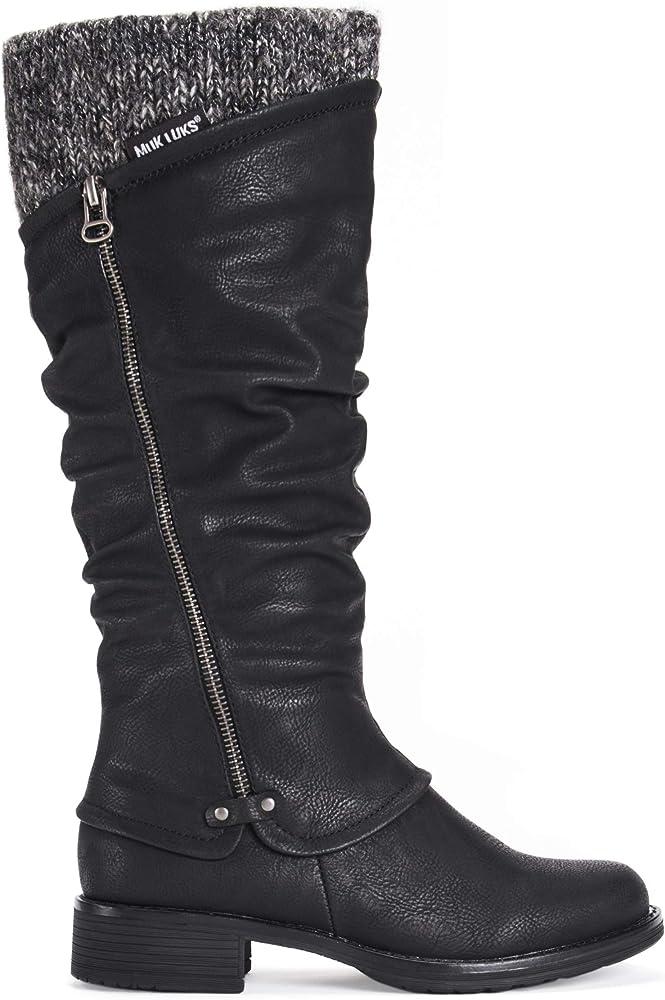 MUK LUKS Women's Brianna Boots-Black