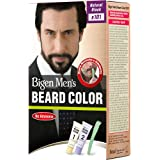 Bigen Men's Beard Color, Natural Black B101 (20g + 20g)