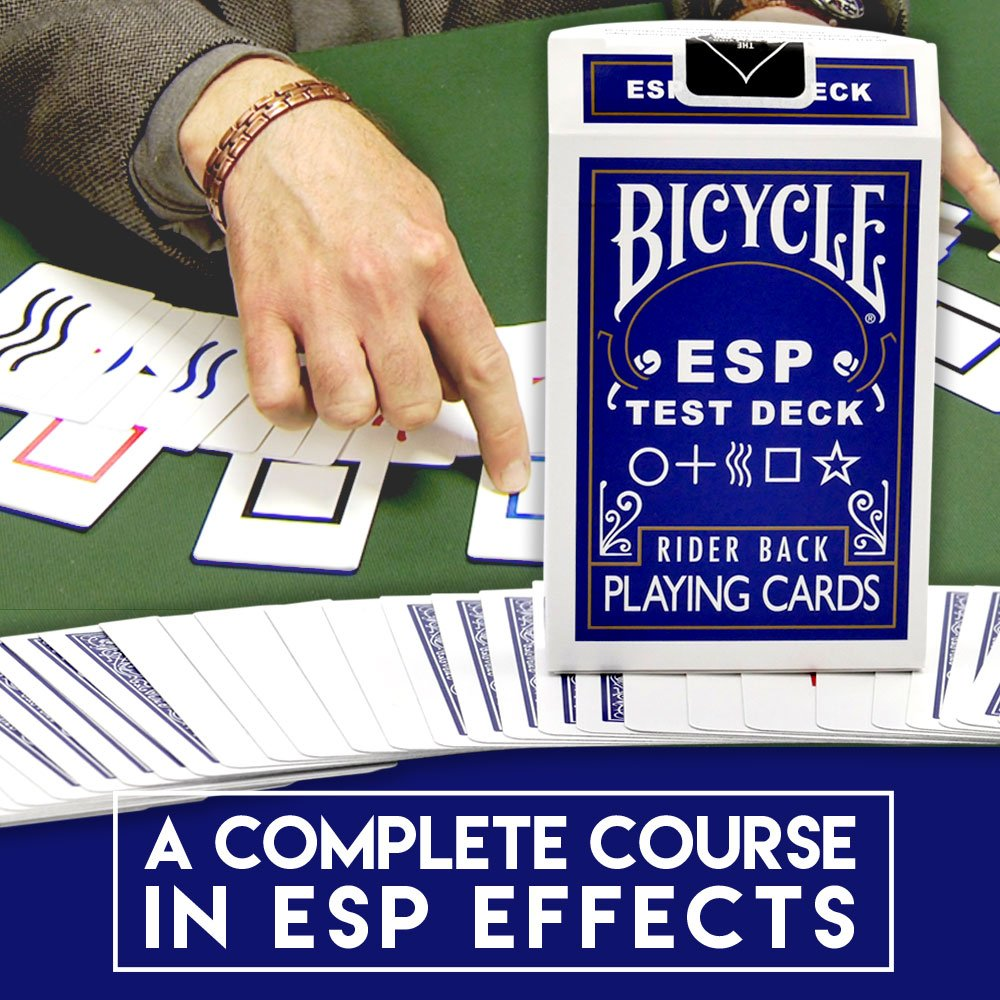 Magic Makers Bicycle ESP Test Deck with Rudy T Hunter, Includes Magic Instruction by Magic Makers (Image #4)