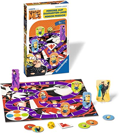 Ravensburger 23435 Despicable Me 3 - Juego de Mesa (edición Alemana): Amazon.es: Juguetes y juegos
