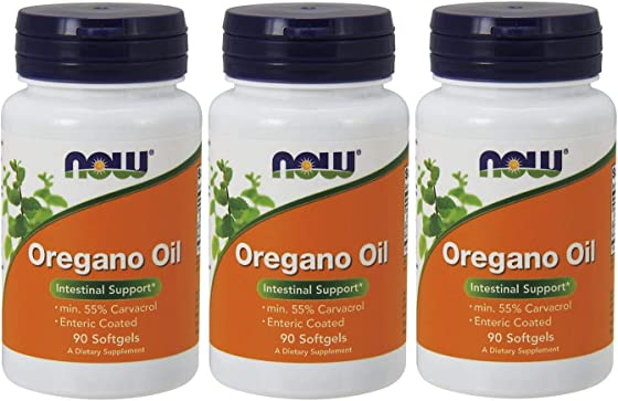 NOW Foods Oregano Oil Enteric 270 Softge…