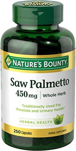 Nature s Bounty Natural Saw Palmetto 450 mg