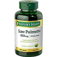Nature's Bounty Natural Saw Palmetto 450 mg