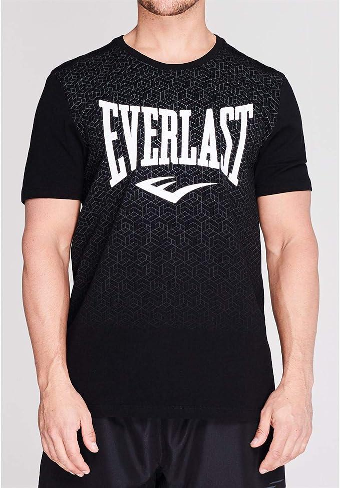Everlast - Camiseta de cuello redondo para hombre, con estampado ...