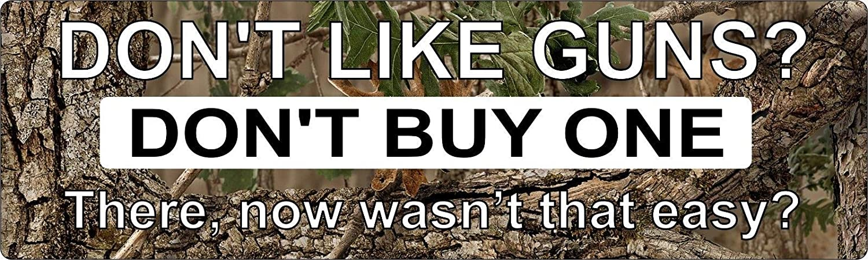 ShopForAllYou Stickers /& Decals 2ND Amendment Americas Dont Like Guns Dont Buy One Bumper Sticker Vinyl Decal