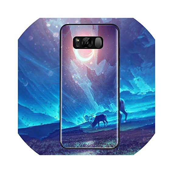 Amazon.com: Phone Case for Samsung Galaxy S8 S9 Plus Back ...