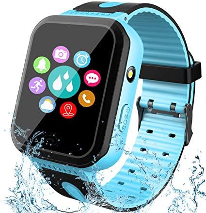 GBD Kids Smartwatch Impermeable GPS Tracker Watch Phone con SOS ...