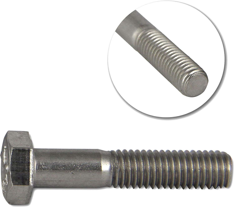 Sechskantschrauben M6 Edelstahl VA DIN 931 mit Teilgewinde A2 V2A 6 mm Schrauben