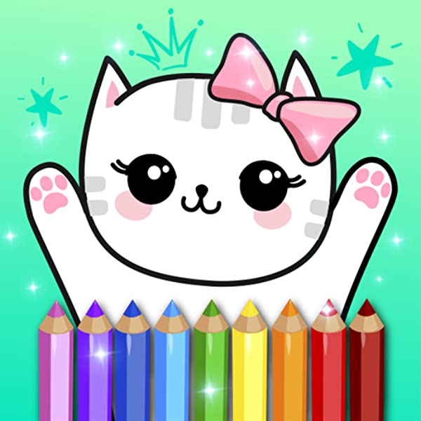 Amazon.com: Coloring Pages Kids Games With Animation Effects: Appstore For  Android