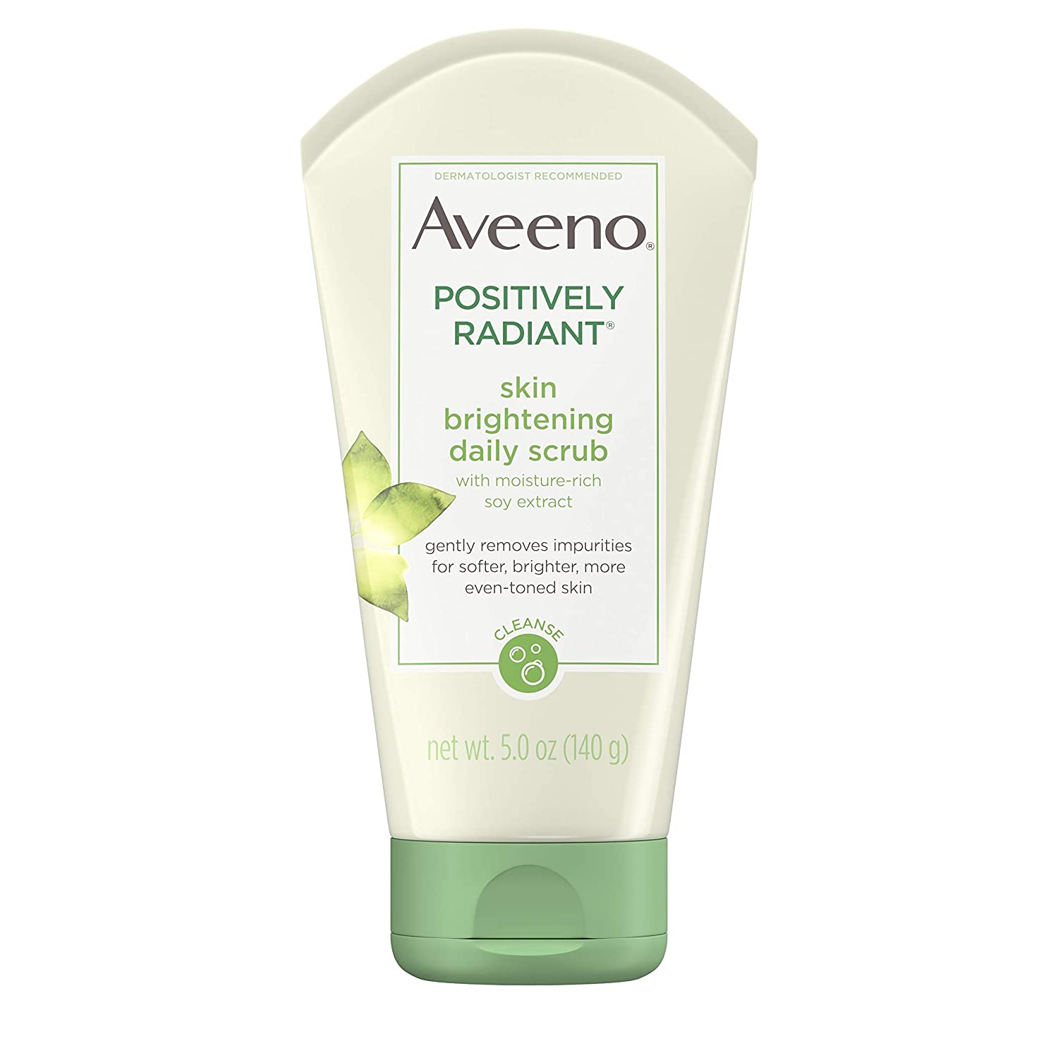 Aveeno Positively Radiant Brightening Daily Scrub 5 Ounce (Pack of 1)