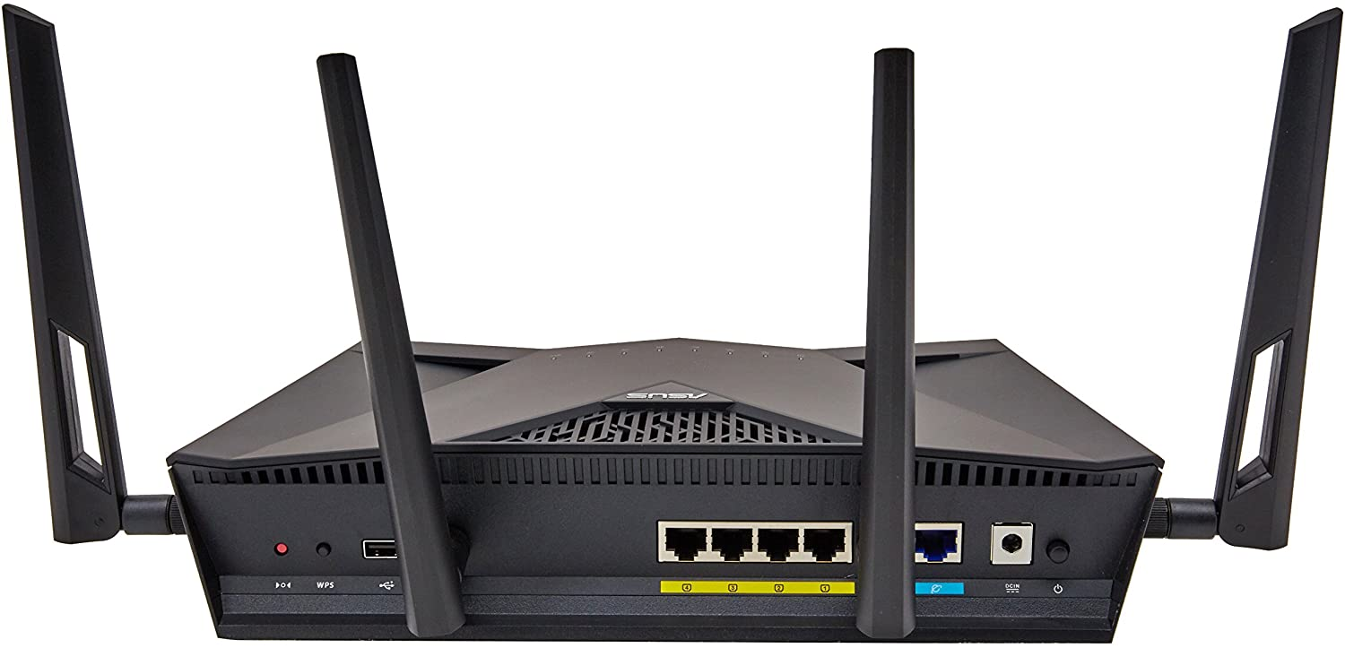 Asus Blue Cave AC2600 Dual-Band Wireless Router for Smart Homes Featuring Intel WiFi Technology and AiProtection Network securi