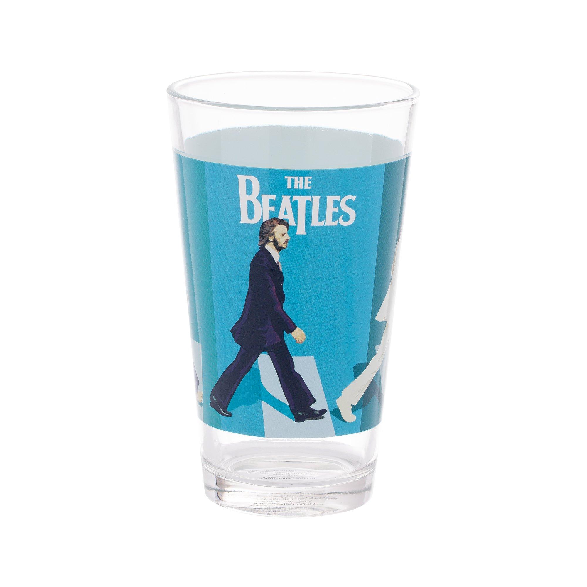 Vandor The Beatles Abbey Road 4 Piece 16 Ounce Glass Set (72012) by Vandor (Image #4)