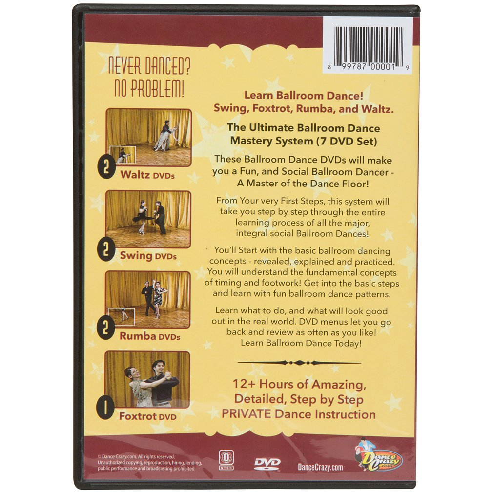 Couples5 dance instruction with a personal touch line dancing - Amazon Com Ballroom Dance Mastery System Step By Step Progressive Dance Lessons Ballroom Dancers Dancecrazy Movies Tv
