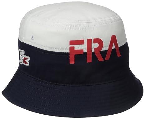 e5ab415e55 Lacoste Homme Chapeau bob - Bleu -: Amazon.fr: Vêtements et accessoires